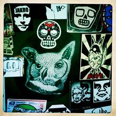 ALIVE & Killah Combo (phase 3) (Photocoyote) Tags: street art stickers combo stayalive photocoyote