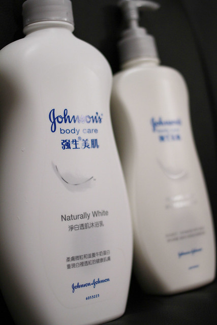 Johnson's body care's Naturally White Series