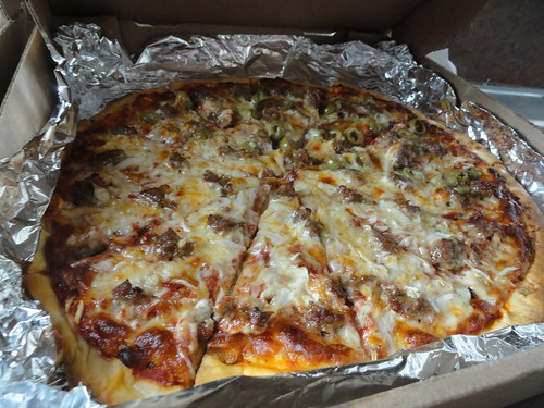 Pizza King pizza