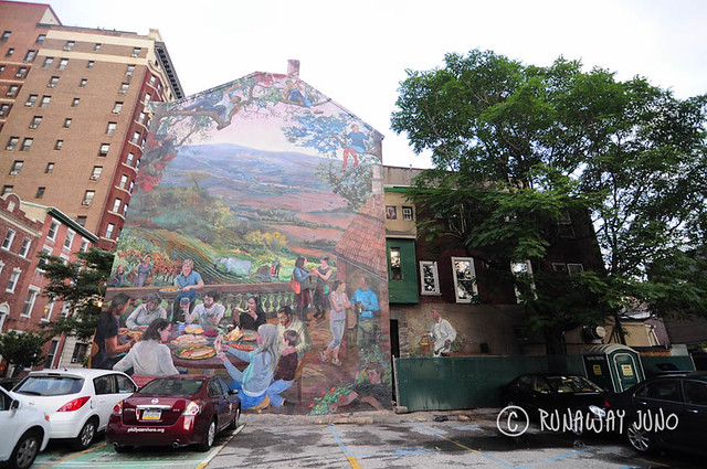 Taste of Summer, mural at Philly