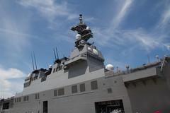 ヨコスカサマーフェスタで護衛艦を撮る