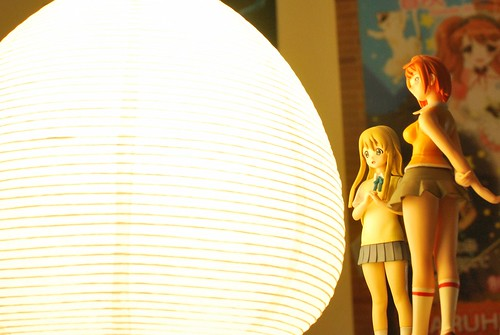 Mai, Mugi inspecting my IKEA lamp