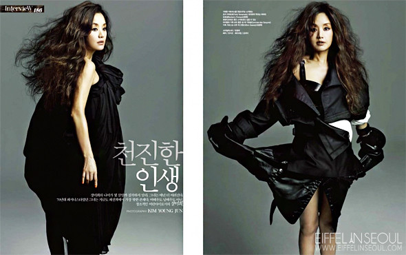 Eiffel In Seoul 15 Actresses For Vogue Koreas 15th Anniversary