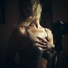 Me, my camera and... [ underwear ] (Carmen Hache) Tags: me personal athome 500x500 50f14 seflie formatocuadrado frentealespejo memycameraandunderwear