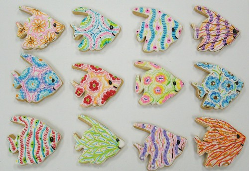 [Image from Flickr]:Goldfish cookies