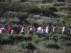 runners (rundixie) Tags: usa mountain america tahoe running run squawvalley runners olympics mountainrun 2000ft