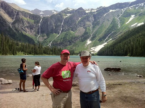 Picnic at Avalanche Lake in Glacier National Park