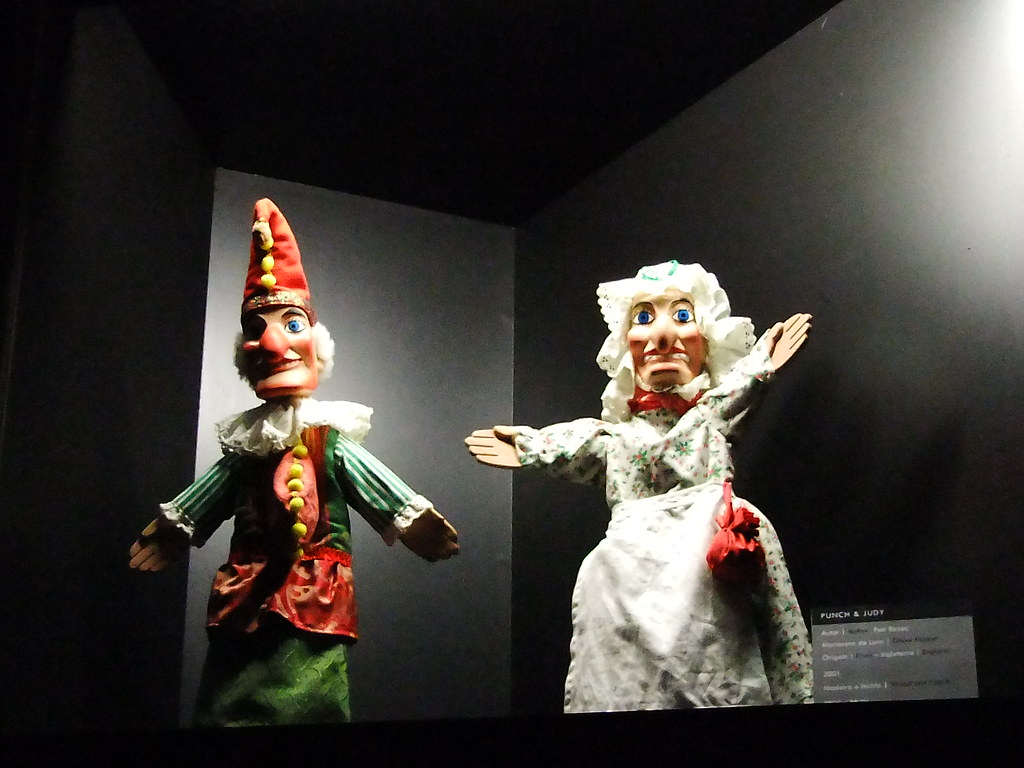 England - Glove Puppet Punch and Judy - Inglaterra