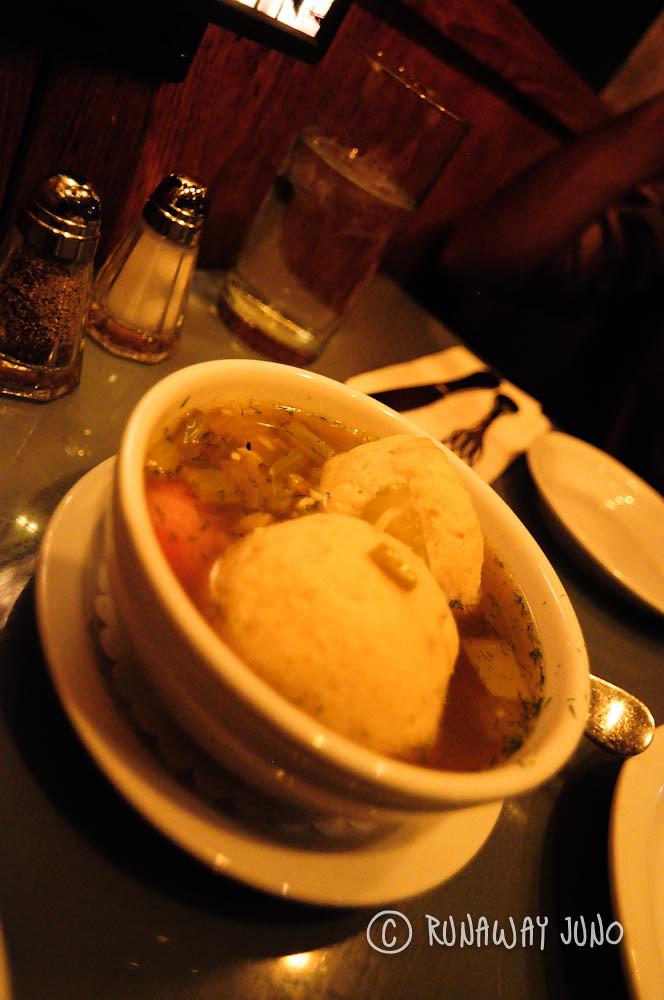 Jones Stephen Starr Restaurant Philadelphia Matzo ball soup