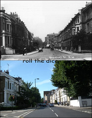 Beaufort Street`1928-2011 (roll the dice) Tags: uk summer bus london art classic architecture closed chelsea traffic busstop flats streetfurniture now 1928 beaufort oldandnew dwelling sloanesquare kingsroad pastandpresent londonist fulhamroad kensingtonchelsea hereandnow sw3 swingingsixties henrysomerset