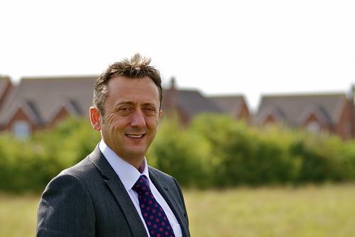 James Fox, headteacher at Abbeyfield School in Chippenham