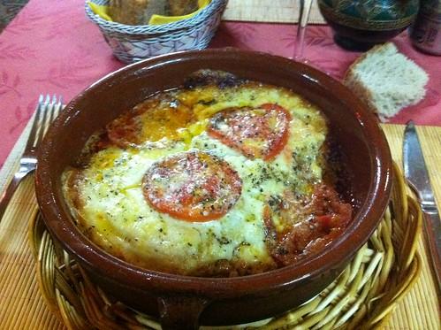 Santiago de Compostela | La Comida Restaurante | Lasagna