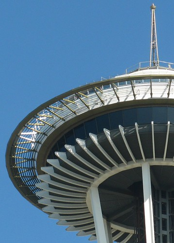 09/28/11 Space Needle by roswellsgirl