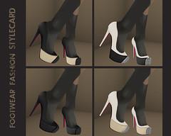 NX Shana Fusion 3 (Anessa Stine) Tags: fall fashion model shoes pumps platform sl secondlife footwear heels accessories stiletto nx pxl anessastine nardcotix donnaflora