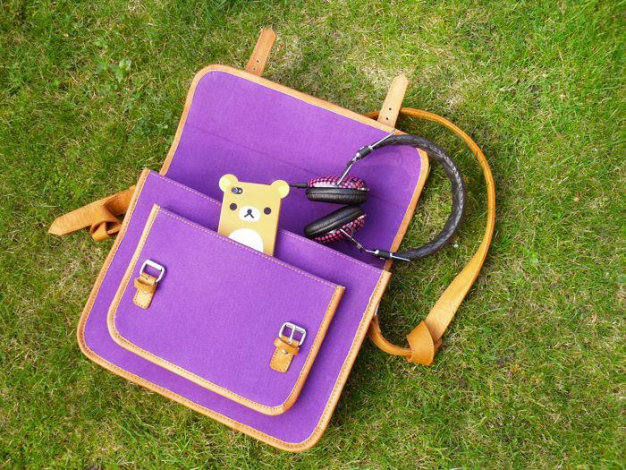 satchel and bear