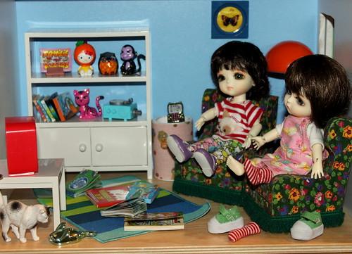 ikea lillabo dollshouse blythe. Mila \u0026 Romi By *blythe-berlin* Ikea Lillabo Dollshouse Blythe D