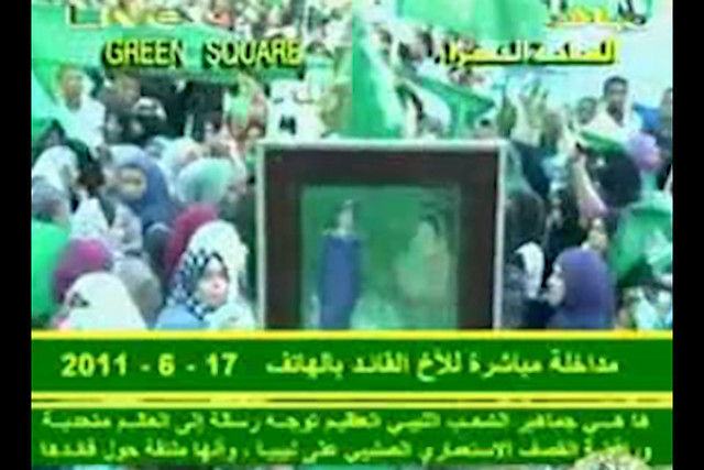 Screenshot Mass_pro_Gaddafi_anti_Nato_Rebels_Demonstration_in_Tripoli_June_17_2011-s_AZMXfUaZA