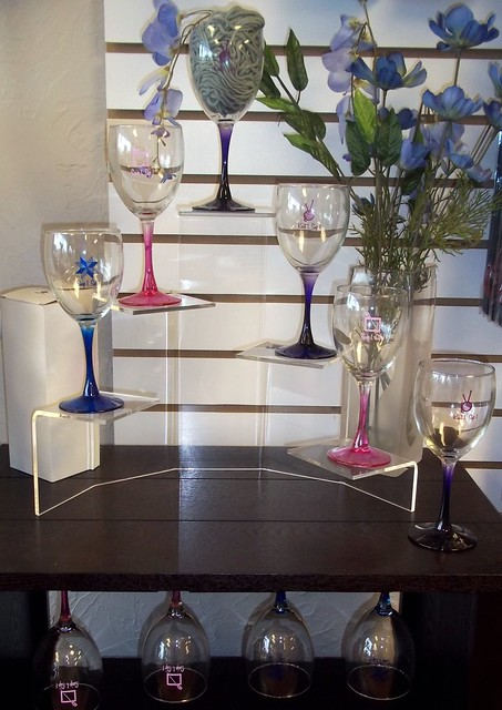 Crafters wine glasses
