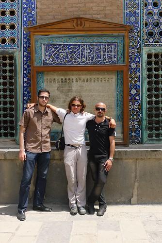 Hamid, Jeremie, and friend.
