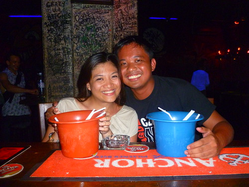 Drinking buckets of redbull vodka and partying in Siem Reap