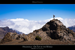 Haleakala - On Top of the World -  Maui Hawaii Posters Series (Denis Dore Photography) Tags: voyage above park travel sky panorama usa cloud mountain nature rock america landscape island volcano hawaii lava vacances nationalpark high scenery view unitedstates desert cone hiking earth top background altitude unitedstatesofamerica hill scenic rocky peak dry nobody maui panoramic aerial hike adventure ridge mount national haleakala crater hawaiian summit environment hiker geology volcanic barren breathtaking slope impressive deepness nationalgeographic dormant hawai haleakalanationalpark mauiposters hawaiiposters mauiposter hawaiiposter mauihawaiiposter mauihawaiiposters
