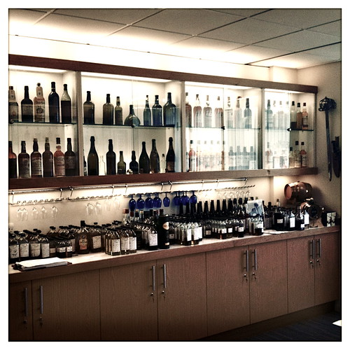 Richard Patterson's tasting room