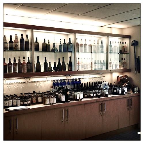 Richard Patterson's tasting room