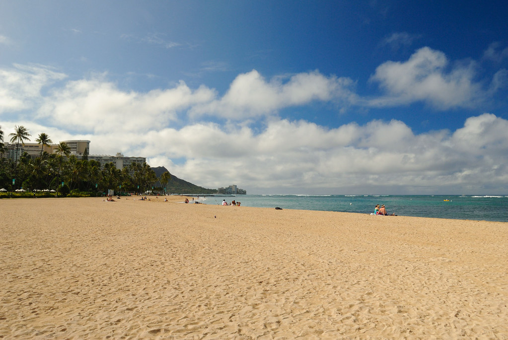 Morning in Waikiki Beach by jdnx, on Flickr