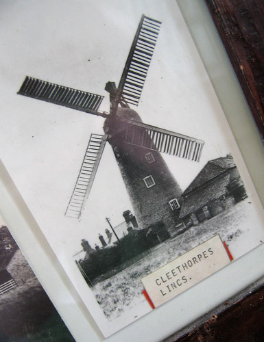 Old photo of Cleethorpes windmill