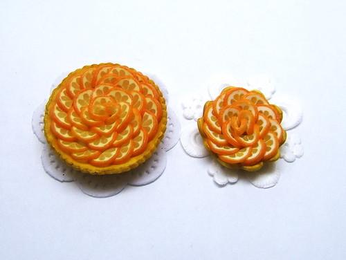 Valencian orange tarts