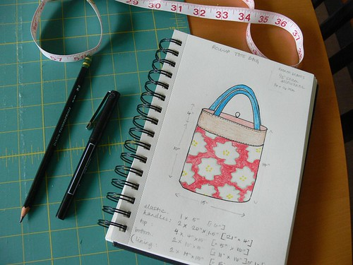 Jenny: Roll-up Tote Bag