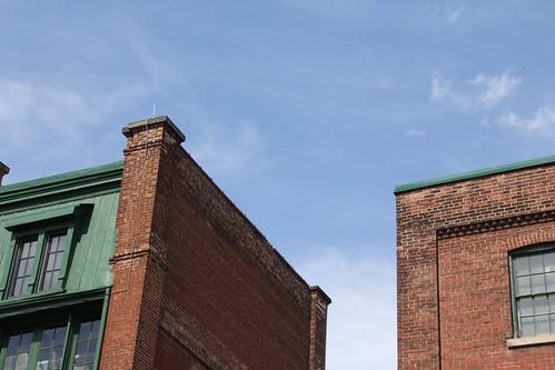 トロント、煉瓦造りの建物