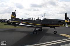 L-11 - 610  Royal Netherlands Air Forice - Pilatus PC-7 - 110702 - Waddington - Steven Gray - IMG_4811