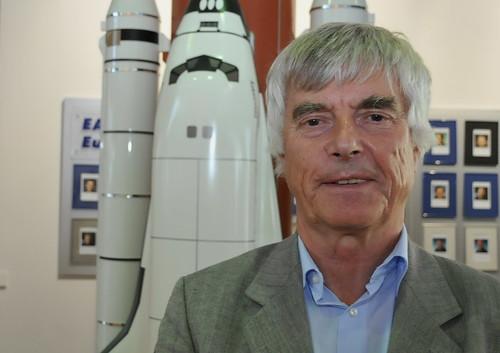 Astronaut Ulf Merbold