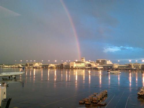 Rainbow at DIA