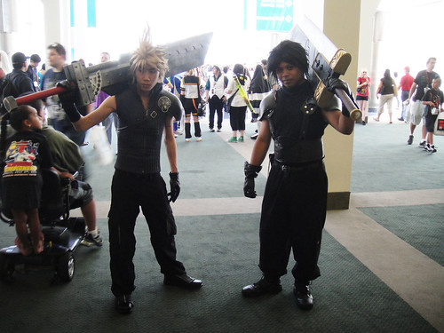 Anime Expo 2011 - Final Fantasy characters
