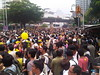 Crowd retreats at sight of water cannon by freemalaysiatoday