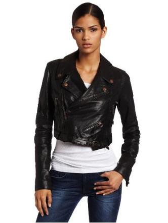 L-coyote leather jacket