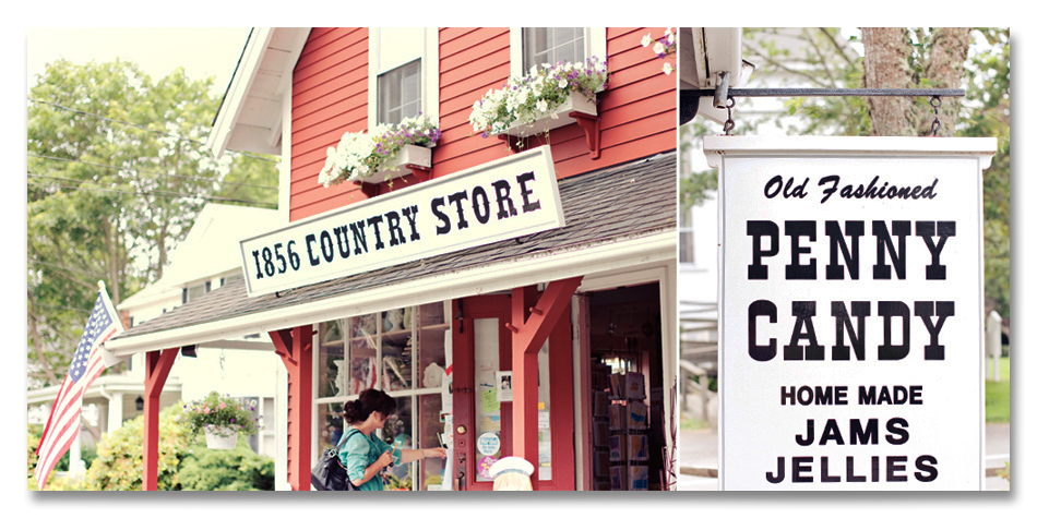 Country Store Collage