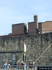 Southampton figure watches bus stop
