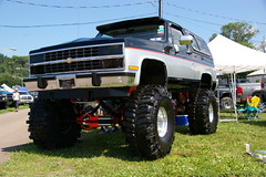 Chevy K5 Blazer (geepstir) Tags: truck offroad pennsylvania 4wd pa monstertrucks bloomsburg truckshow columbiacounty