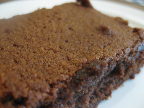 Mexican cocoa brownie