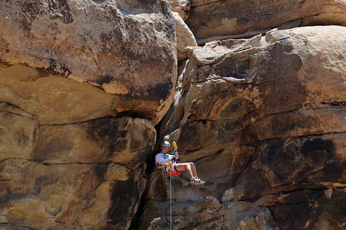 Rock Climbimg in Joshua Tree National Park