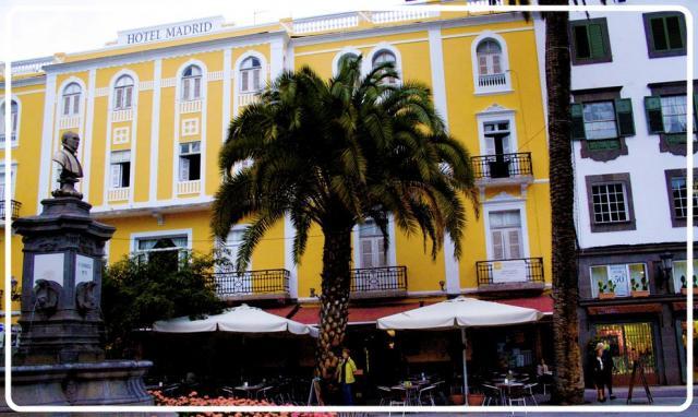 Restaurante Hotel Madrid Ocio Las Palmas