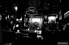 Lonely (hemal mamtora) Tags: abstract glass monochrome contrast glasses blackwhite cool pub guitar yo hrc attitude bands rockmusic pune hardrockcafe nikond90