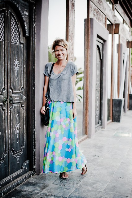 Ibiza style setter: What Maya wears: The thing about vintage...
