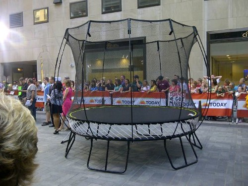 Springfree Trampoline on the Today Show!
