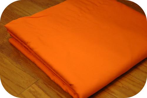Orange Quilt Back