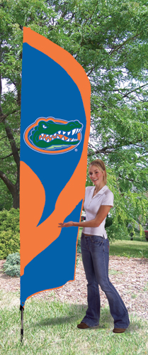Florida Gators Tall Feather Flag