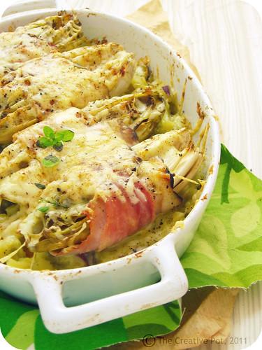 Chicory & Ham Bake e2-w